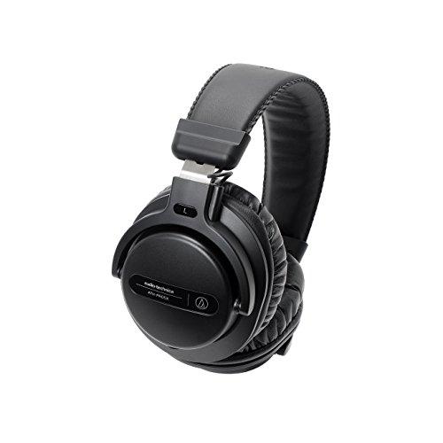 Audio-Technica ATH-PRO5XBK Professional Over-Ear DJ Monitor Headphones, Black by Audio-Technica