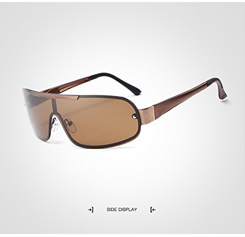 Hombre Gafas Star lan Sol Brown Color para Shuo polarizadas Gafas Alta HD de Brown Marca wqolutepce Calidad Trends New de Fishing Product Lens Driving de Moda tpwwdxR8