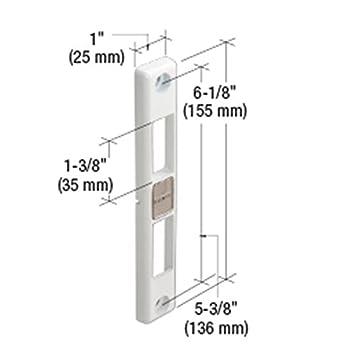 C.R. LAURENCE HA0208W CRL Milgard Door Keeper