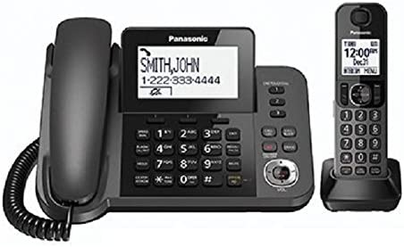 Certified Refurbished Panasonic KXTGF350M Dect 1-Handset Landline Telephone KX-TGF350N Metallic Gray