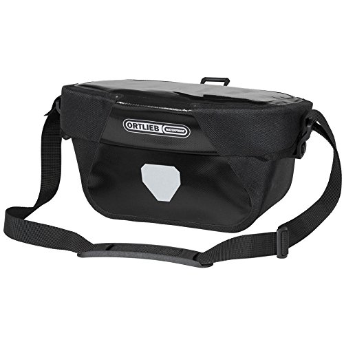 Ortlieb Ultimate6 S Classic Handlebar Bicycle Bag (Black)