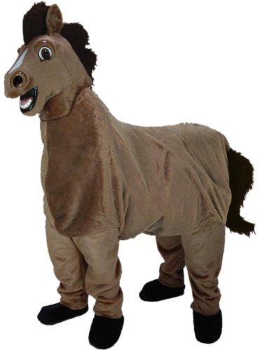 2-Person Horse Mascot Costume -