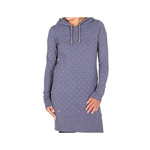 Dots Navy mazine Melange Navy Dress Melange Dots Ozette 6qxqUfF