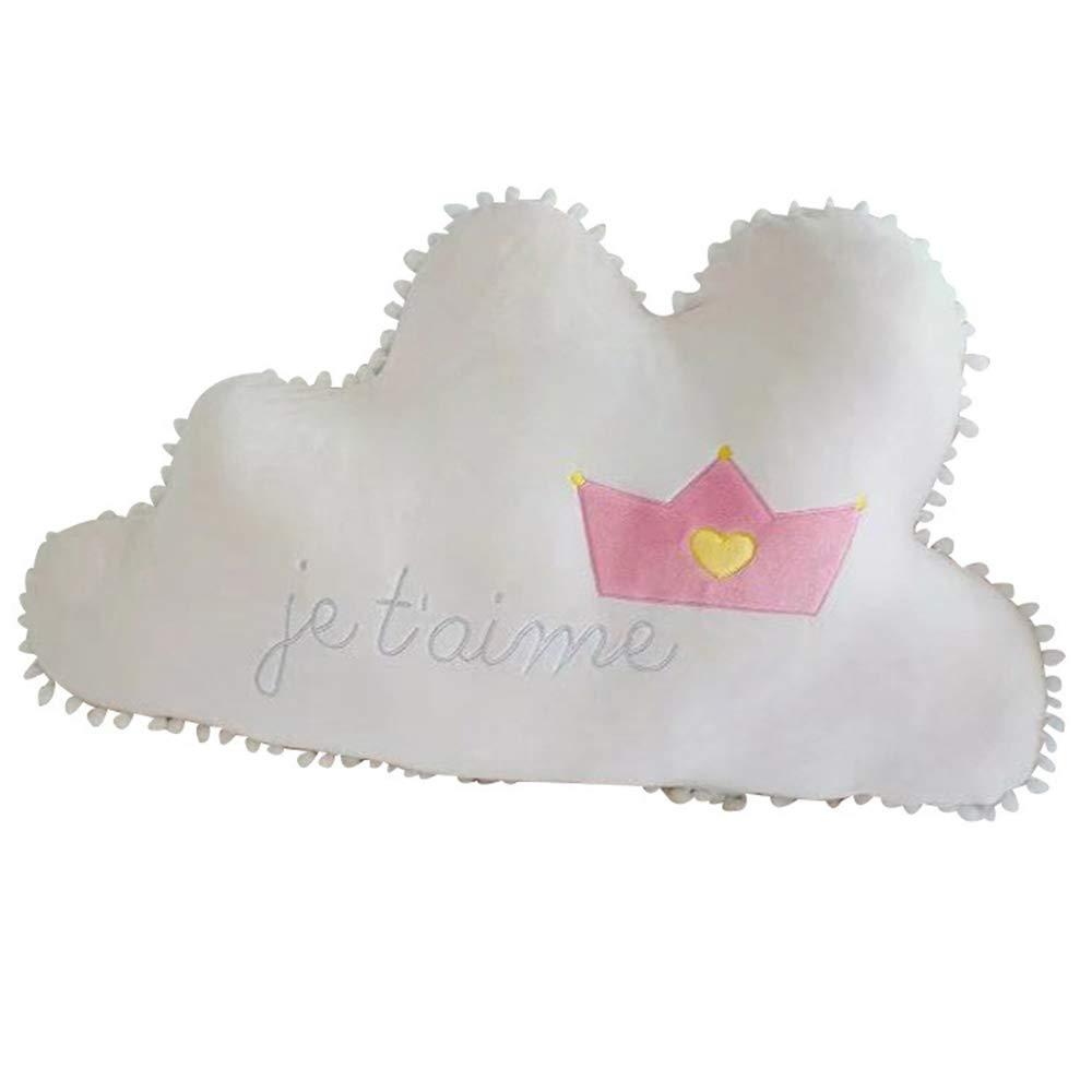 Carta Romántica En Forma De Nube Almohada De Decoración De ...