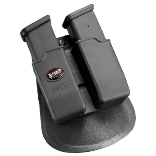 Fobus Roto Paddle 6900RP Double Mag Pouch Glock 9& 40, H&K 9&40