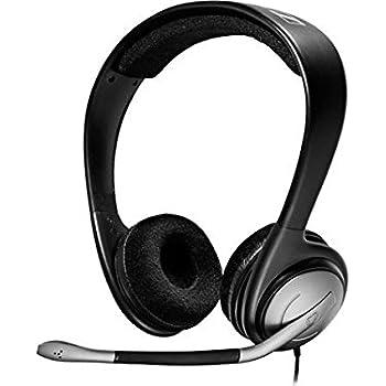 sennheiser pc 151 binaural headset with noise canceling microphone volume control. Black Bedroom Furniture Sets. Home Design Ideas
