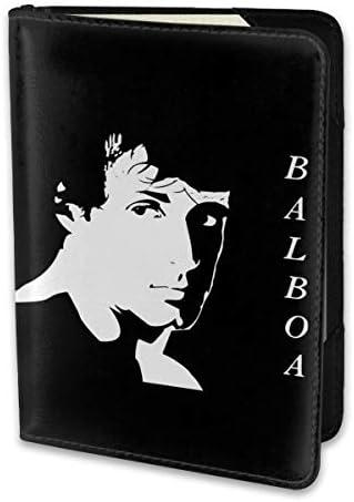 ROCKY BALBOA ロッキー・バルボア パスポートケース メンズ 男女兼用 パスポートカバー パスポート用カバー パスポートバッグ 小型 携帯便利 シンプル ポーチ 5.5インチ高級PUレザー 家族 国内海外旅行用品