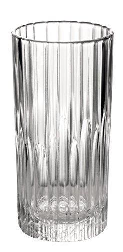 Duralex - Manhattan Clear Glass Highball Tumbler 305 ml ( 10 5/8 oz.) Set of 6 by Duralex