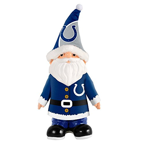 Indianapolis Colts Official NFL Santa Gnome