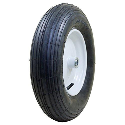 Marathon-20063-Pneumatic-Ribbed-Wheelbarrow-Tire