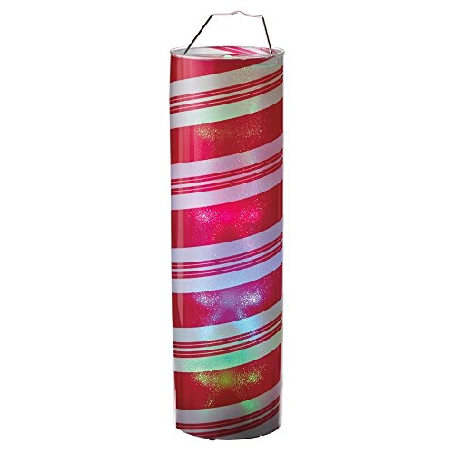 (Midwest CBK Lighted Large LED Candy Cane Cylinder - 24in. tall)