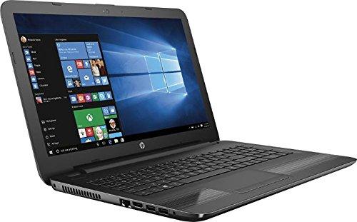 HP 15.6 HD High Performance Laptop - AMD Quad-Core APU 1.8GHz, 4GB RAM, 500GB HDD, AMD Radeon R2 Graphics, WLAN, Webcam, USB 3.0, DVDRW, HDMI, SD Reader Windows 10 (Certified Refurbished)