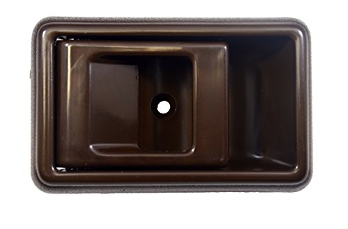 PT Auto Warehouse TO-2501B-LH - Inside Interior Inner Door Handle, Brown - Driver (Brown Interior Door Handle Driver)