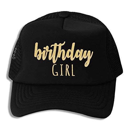 Zeniac Apparel Birthday Girl Trucker Hat]()