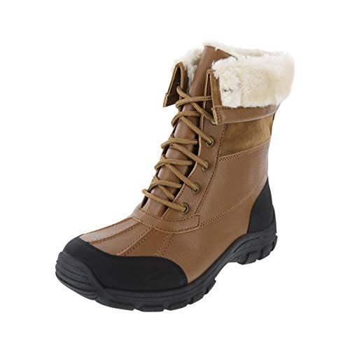 6a498c95c259 Rugged Outback Cognac Women s Snowbound -30 Lace-Up Weather Boot 12 Regular