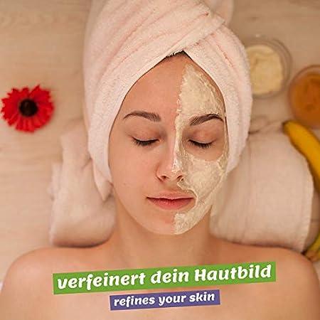 Mascarilla Facial de Miel 250g - mascarilla anti espinillas, puntos negros y contra acné - cuidado antienvejecimiento para pieles con imperfecciones - máscara facial belleza para cara y cuerpo