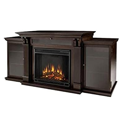 Real Flame Calie Entertainment Center Electric Fireplace