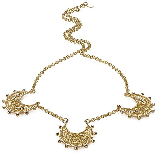 SUMMER Sale - 3 Byzantine Crescent Necklace, From Our Museum Store Collection by ILANET Museum Reproductions