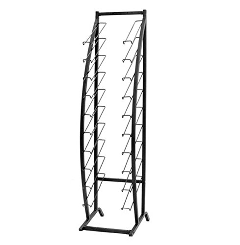 Vulcan Industries, 1012776-00U0017, Adjustable  Waterfall Display, Adjusts From 15'' to 27''W, Designed For Showcaseing Flooring Samples, 10 Shelves, 78'' High by Vulcan Industries