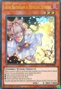 Ash Blossom & Joyous Spring - LCKC-EN080 - Ultra Rare - 1st Edition - Legendary Collection Kaiba Mega Pack (1st Edition)