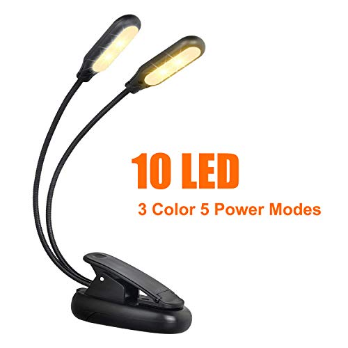 Double Led Reading Light in US - 3