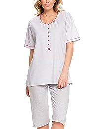 Dn-nightwear PB.9036 subtle maternity pyjama set - made in EU