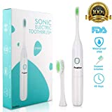 Best Battery Toothbrushes - Peakfun Electric Toothbrush for Adults, Sonic Toothbrush Review
