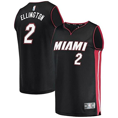 Fanatics Branded Fanatics Branded Wayne Ellington Miami Heat Black Fast Break Replica Player Jersey - Icon Edition スポーツ用品 【並行輸入品】 B07FSRDS8W   M