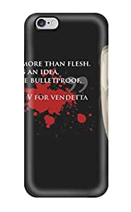 Iphone 6 Plus Case, Premium Protective Case With Awesome Look - V For Vendetta Movie People Movie