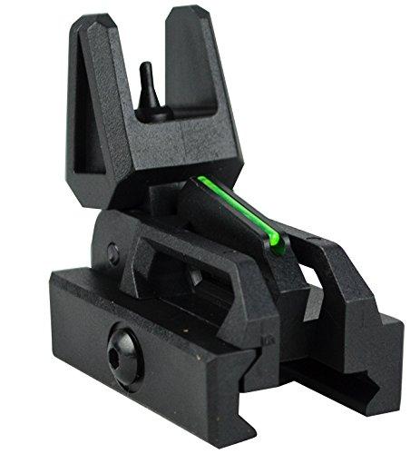 Valken Tactical Rifle Accessory - Valken Folding Front Sight-Black/Neon (Iron Paintball Gun)