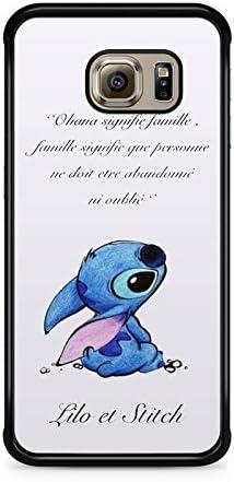 ohana signifie famille stitch disney S8 PLUS Coque Samsung Galaxy S8+