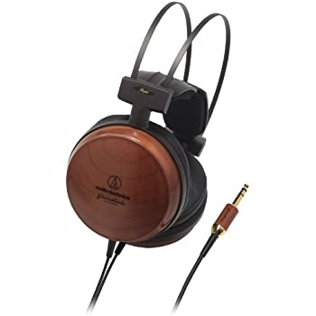 Audio-Technica Audiophile Closed-Back Dynamic Wooden Headphones