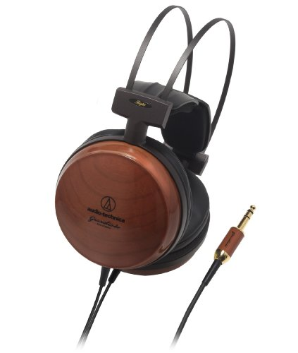 Audio-Technica Audiophile Closed-Back Dynamic Wooden Headphones