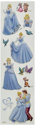Disney Cinderella Slims Dimensional (Cinderella Stickers)