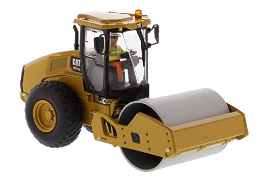(CAT Caterpillar CS11 GC Vibratory Soil Compactor with Operator High Line Series 1/50 Diecast Model by Diecast Masters 85589)