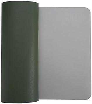 organizador de escritorio de piel sint/ética con c/ómoda superficie de escritura color azul oscuro 90x45cm Alfombrilla protectora para escritorio de Bubm; 90 x 45 cm material secante