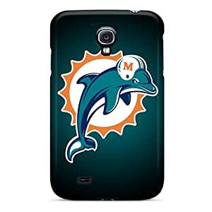 Scratch Protection Cell-phone Hard Cover For Samsung Galaxy S4 (Rqt3879cneC) Customized Fashion Miami Dolphins Series