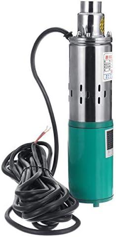 Queenwind 380W 48V/60V の深い井戸ポンプ 1.2 m 3/h のステンレス製水中ポンプは産業家庭の使用のために深い
