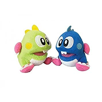 Taito - Peluche - Bubble Bobble - Lot de 2 peluches Bubble Bobble 25cm - 3700789290001