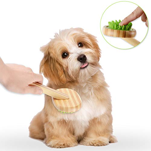 Goldway Pet Silicone Massage Comb Dog Cat Bathing Brush Super Soft Hair Removal Brush for Short/Long / Smooth Hair Comb - Beauty Cleaning Massage Comb Pet Supplies