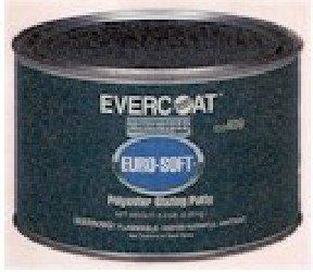 Evercoat Fibreglass 408 Euro-Soft Glazing Putty - 20 oz. Can (Evercoat Putty Polyester Glazing)