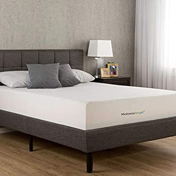 Amazon Com Mattress Angel 10 Quot Inch Queen Size Memory Foam
