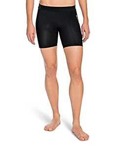 SKINS Women's A400 Compression Shorts, Black, X-Small