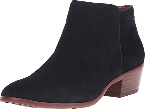 Sam Edelman Women's Petty Ankle Bootie, Black Suede, 6.5 M US