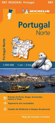 Portugal Norte   Michelin Regional Map 591  Michelin Regional Maps