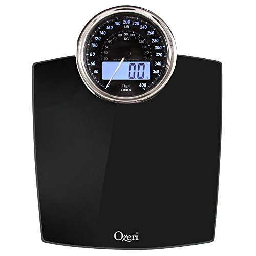 Digital Body Weight Scale Electronic Lcd Dial Bathroom Health Fitness Weigh 400 ()