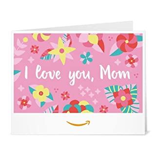 Amazon Gift Card - Print - I Love You Mom (Mother's Day Floral) (B06XWH1625) | Amazon price tracker / tracking, Amazon price history charts, Amazon price watches, Amazon price drop alerts
