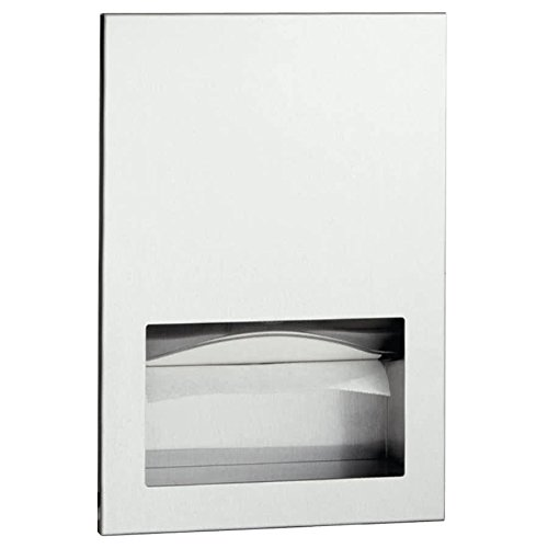 B-35903 TrimLineSeries C Fold or Multifold Recessed Paper Towel Dispenser By TableTop King