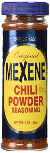 Mexene Original Chili Powder Seasoning 3oz Bottle (Pack of 3) by Mexene