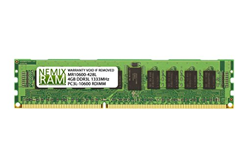 IBM FRU:46C0576 PC3L-10600R DDR3-1333 4GB ECC REG 2RX8 VLP (FOR SERVER ONLY) (Reg Profile Low Memory Server)